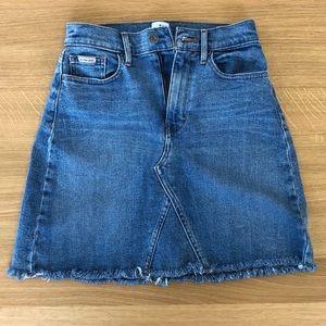 Calvin Klein Jean denim skirt Sz 25